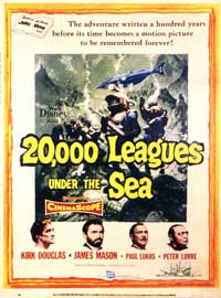 20,000 Leagues Under the Sea - 11 x 17 Movie Poster - Style D