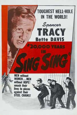 20,000 Years in Sing Sing - 11 x 17 Movie Poster - Style A