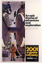 2001: A Space Odyssey - 11 x 17 Movie Poster - Style E