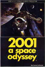 2001: A Space Odyssey - 11 x 17 Movie Poster - Style F