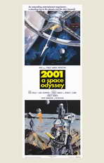 2001: A Space Odyssey - 11 x 17 Movie Poster - Style G
