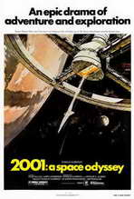2001: A Space Odyssey - 27 x 40 Movie Poster - Style B