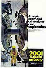 2001: A Space Odyssey - 27 x 40 Movie Poster - Style A