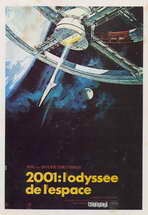 2001: A Space Odyssey - 27 x 40 Movie Poster - French Style B