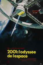 2001: A Space Odyssey - 27 x 40 Movie Poster - French Style C