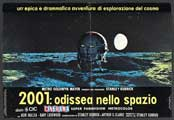 2001: A Space Odyssey - 11 x 17 Movie Poster - Italian Style C