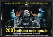 2001: A Space Odyssey - 11 x 17 Movie Poster - Italian Style F