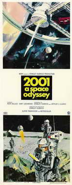 2001: A Space Odyssey - 14 x 36 Movie Poster - Insert Style A