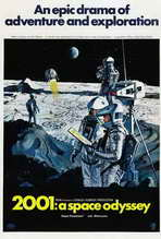 2001: A Space Odyssey - 27 x 40 Movie Poster - Style J