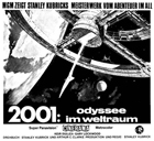 2001: A Space Odyssey - 11 x 17 Movie Poster - German Style D