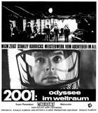 2001: A Space Odyssey - 11 x 17 Movie Poster - German Style B