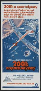 2001: A Space Odyssey - 13 x 30 Movie Poster - Australian Style B