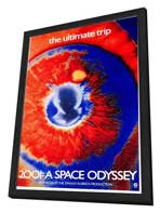 2001: A Space Odyssey - 27 x 40 Movie Poster - Style L - in Deluxe Wood Frame
