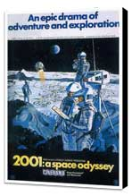 2001: A Space Odyssey - 11 x 17 Movie Poster - Style U - Museum Wrapped Canvas