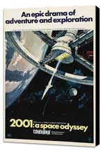 2001: A Space Odyssey - 27 x 40 Movie Poster - Style I - Museum Wrapped Canvas