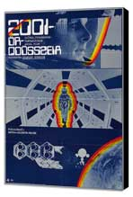 2001: A Space Odyssey - 27 x 40 Movie Poster - Hungarian Style A - Museum Wrapped Canvas