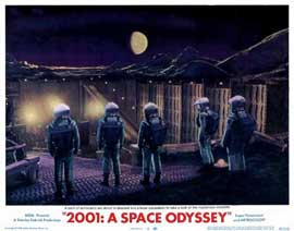 2001: A Space Odyssey - 11 x 14 Movie Poster - Style F