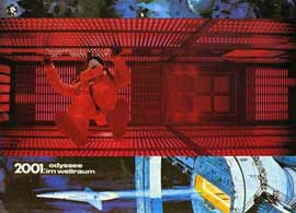 2001: A Space Odyssey - 11 x 14 Poster German Style C