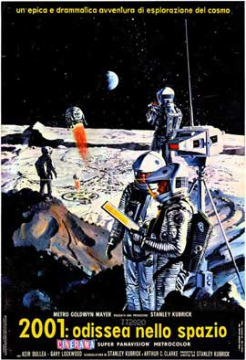 2001: A Space Odyssey - 11 x 17 Movie Poster - Italian Style B