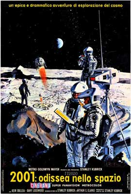 2001: A Space Odyssey - 27 x 40 Movie Poster - Italian Style A