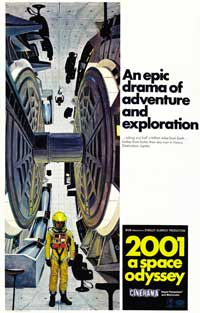 2001: A Space Odyssey - 43 x 62 Movie Poster - Bus Shelter Style C