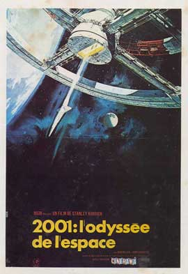 2001: A Space Odyssey - 11 x 17 Movie Poster - French Style B