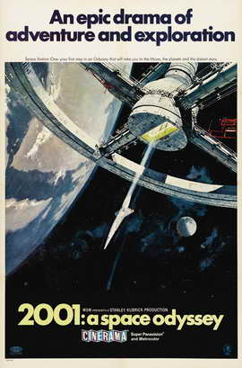 2001: A Space Odyssey - 11 x 17 Movie Poster - Style O
