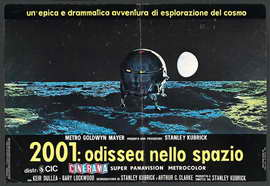 2001: A Space Odyssey - 27 x 40 Movie Poster