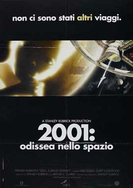 2001: A Space Odyssey - 11 x 17 Movie Poster - Italian Style D