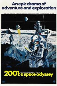 2001: A Space Odyssey - 43 x 62 Movie Poster - Bus Shelter Style D
