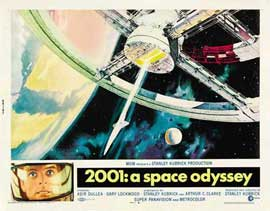 2001: A Space Odyssey - 11 x 17 Movie Poster - Style T