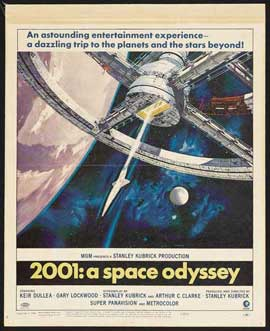 2001: A Space Odyssey - 27 x 40 Movie Poster - Style N
