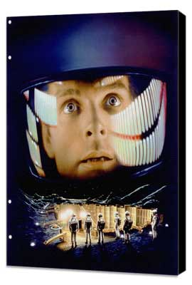 2001: A Space Odyssey - 11 x 17 Movie Poster - Style K - Museum Wrapped Canvas