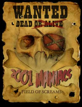 2001 Maniacs: Field of Screams - 27 x 40 Movie Poster - Style A