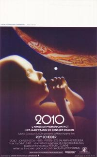 2010: The Year We Make Contact - 11 x 17 Movie Poster - Belgian Style A