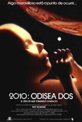 2010: The Year We Make Contact - 27 x 40 Movie Poster - Spanish Style A