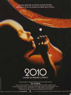 2010: The Year We Make Contact - 11 x 17 Movie Poster - French Style A
