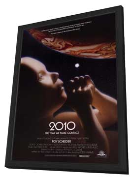 2010: The Year We Make Contact - 27 x 40 Movie Poster - Style A - in Deluxe Wood Frame