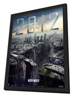 2012 - 11 x 17 Movie Poster - Style G - in Deluxe Wood Frame