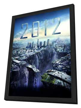 2012 - 27 x 40 Movie Poster - Style C - in Deluxe Wood Frame