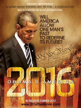 2016: Obama's America - 11 x 17 Movie Poster - Style B