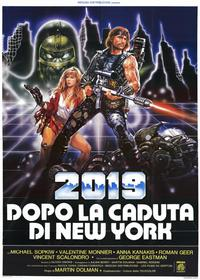 2019: The Fall of New York - 11 x 17 Movie Poster - Italian Style A