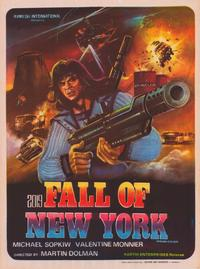 2019: The Fall of New York - 43 x 62 Poster - Foreign - Bus Shelter Style A