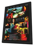 2046 - 27 x 40 Movie Poster - Style B - in Deluxe Wood Frame