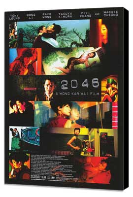 2046 - 27 x 40 Movie Poster - Style B - Museum Wrapped Canvas