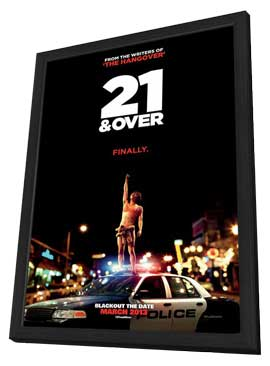 21 and Over - 27 x 40 Movie Poster - Style A - in Deluxe Wood Frame