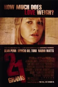 21 Grams - 11 x 17 Movie Poster - Style B