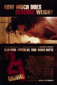 21 Grams - 11 x 17 Movie Poster - Style C