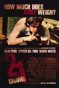 21 Grams - 11 x 17 Movie Poster - Style D