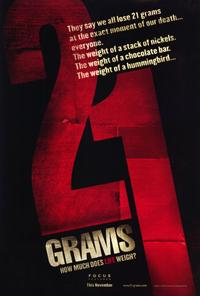 21 Grams - 27 x 40 Movie Poster - Style A